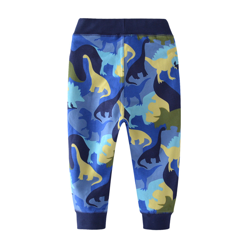 SAILEROAD Dinosaur Pattern Winter Pants for Boys Fall Children Sport Pants for Kids Clothes Baby Boys Sweaterpants for 6 Years 2