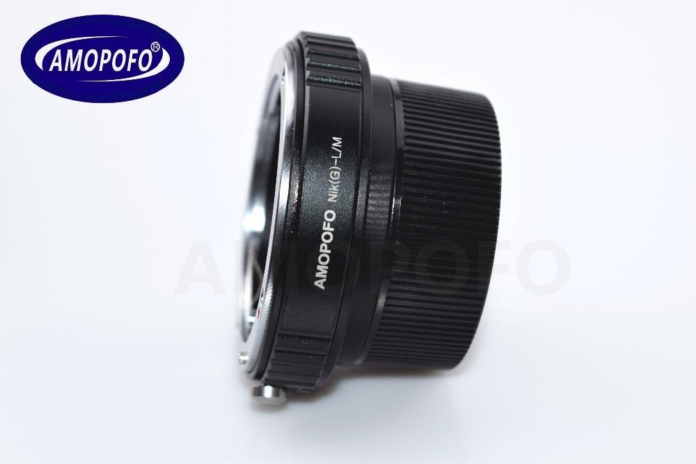 Adapter N / G-LM për Nikon G AI A F Lente për Leica M L / M M9 M8 - Kamera dhe foto - Foto 4