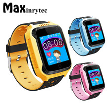 Maxinrytec Q528 Y21 Kid GPS Smart Watch With Flashlight Baby Watch SOS Call Location Device Tracker for Kid Safe pk q90 Q750(China)
