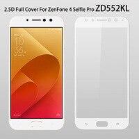 ZD552KL Vetro Della Copertura Completa Per ASUA Zenfone 4 Selfie Pro ZD552KL Temperato Protezione Dello Schermo di Vetro Per Zenfone 4 Selfie Pro