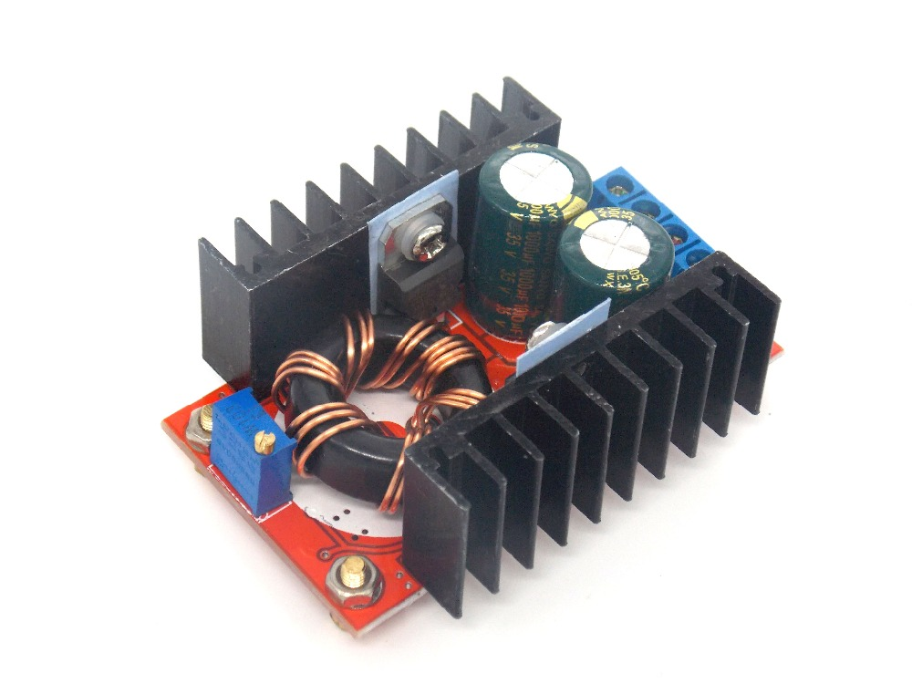 <font><b>150W</b></font> <font><b>Boost</b></font> <font><b>Converter</b></font> DC-DC 10-32V to 12-35V Step Up Voltage Charger Module image