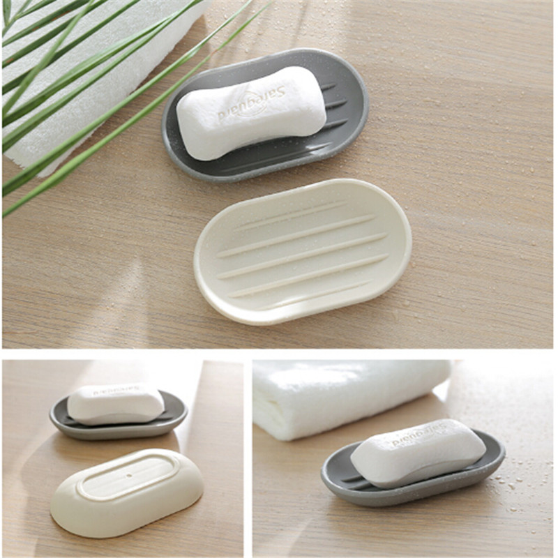 Home Bathroom Shower Travel Hiking Soap Box Dish Plate Holder Case Container HOT