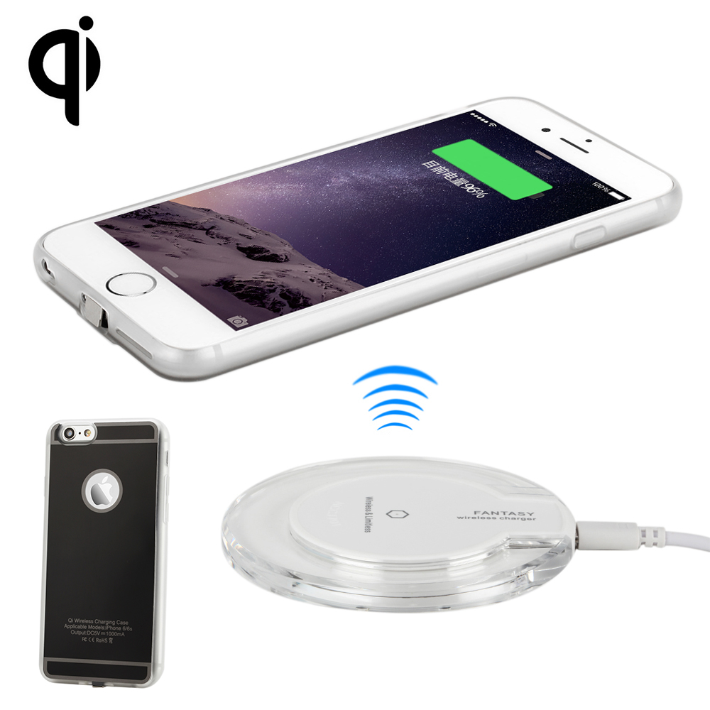 Wireless Charging Iphone Us 21 6 Antye Qi Wireless Charger Kit For Iphone 6 6s 6 Plus 6s Plus Including Qi Wireless Charger Pad And Receiver Case In Wireless Chargers From
