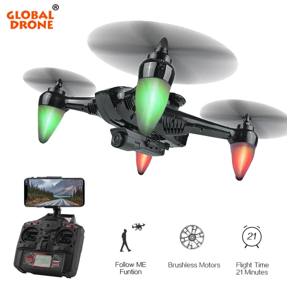 Mondiale Drone RAY GW198 Professionnel GPS Brushless Dron Hover Quadcopter Auto Suivre GPS Drones avec Caméra HD VS S70W X183