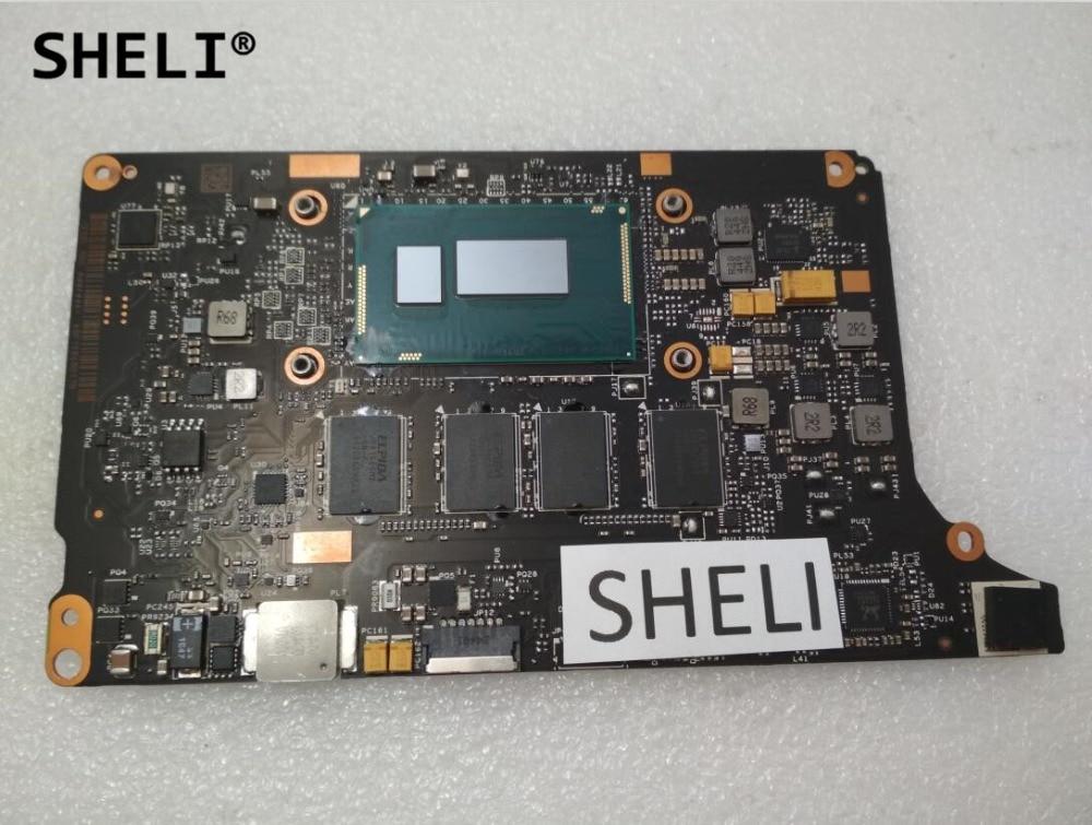 SHELI Per Lenovo Yoga 2 Pro Scheda Madre con processore 8G VIUU3 I7-4510U NM-A074