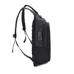 Image 3 - Rucksäcke Männer Multifunktions USB Lade 15,6 zoll Laptop Rucksäcke Für Jugendliche Reisen Rucksack Anti Dieb Mode Männlichen Mochila