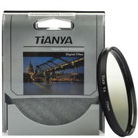 WTIANYA Bule Orange Grey Graduated Filter sets with filter pouch for Canon Nikon Sony Pentax 62mm Lens