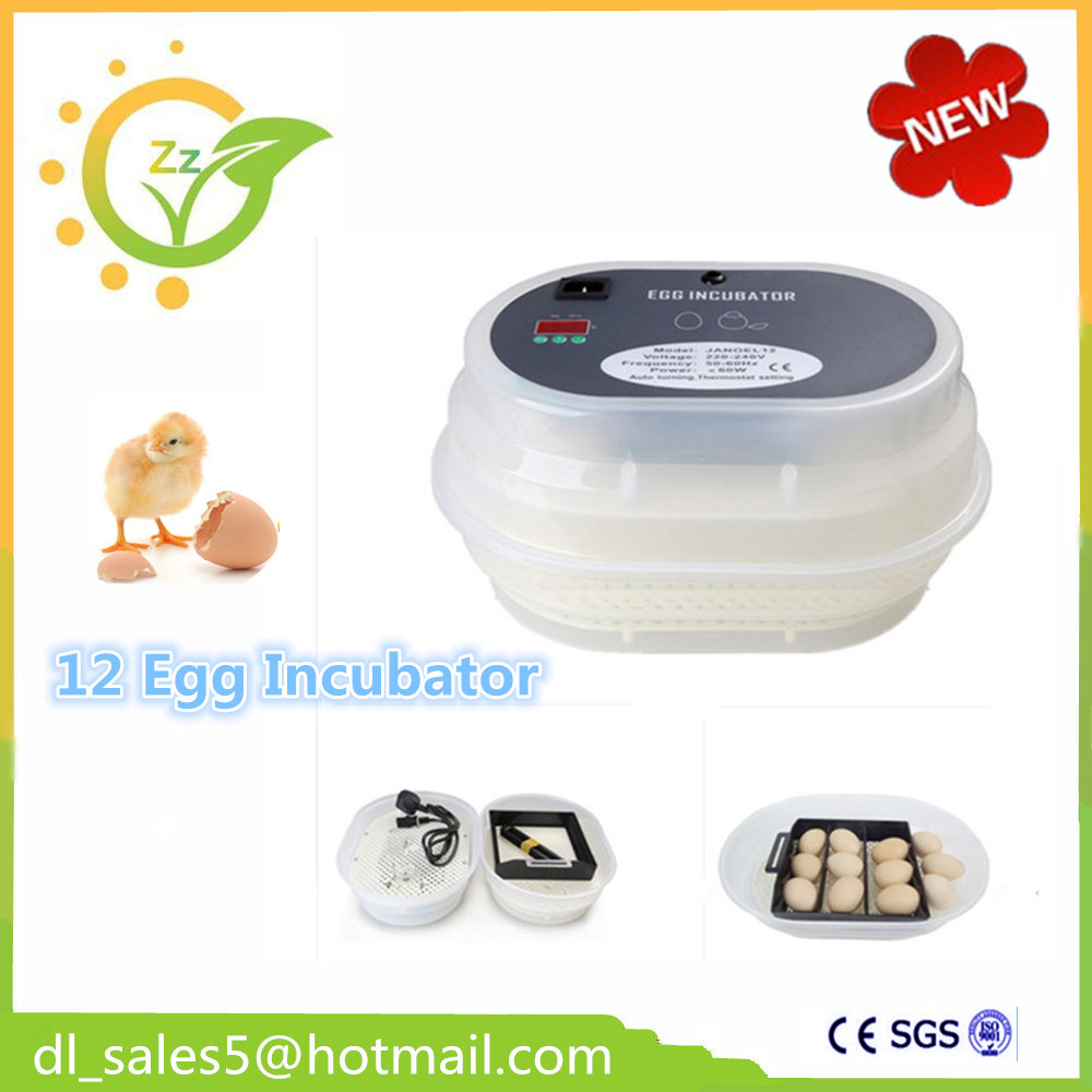 Automatic egg incubator Chicken Incubator Poultry Harcher Quail 12 brooder machine for sale automatic chicken incubator poultry harcher quail egg incubator 48 eggs egg incubator brooder machine zz48