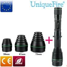 UniqueFire 1508 T38 IR illumination 940nm Brass Pill LED Flashlight