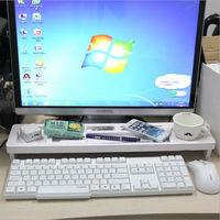 Modern Multifunctional Storage Box Desk Organizer Computer Keyboard Shelf Storage Products