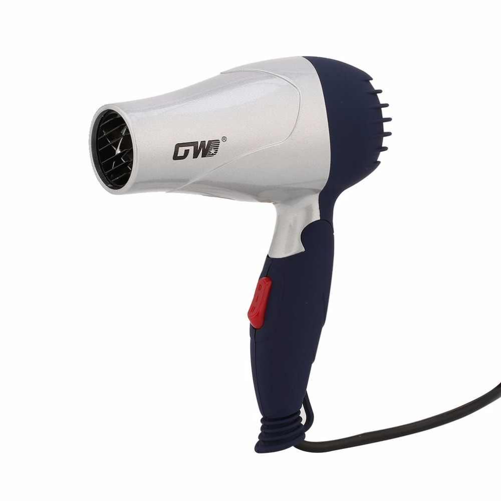 Мини Портативная Складная Ручка Компактная 1500 Вт фен для волос горячий ветер низкий уровень шума длительный срок службы для путешествий аксессуары для укладки волос