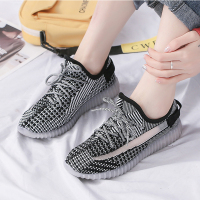 QMJHVX luxury Brand Women's Casual Shoes Vulcanize Shoes 2019 Women Flats Sneakers Walking Night reflective shoes basket femme