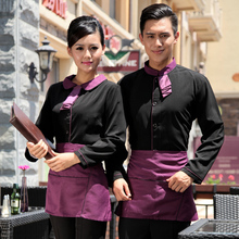 Chef Uniform Hotel Uniform Restaurant Coffee Hotel Restaurant Waiter Clothing Work Clothes with Long Sleeves Work Wear