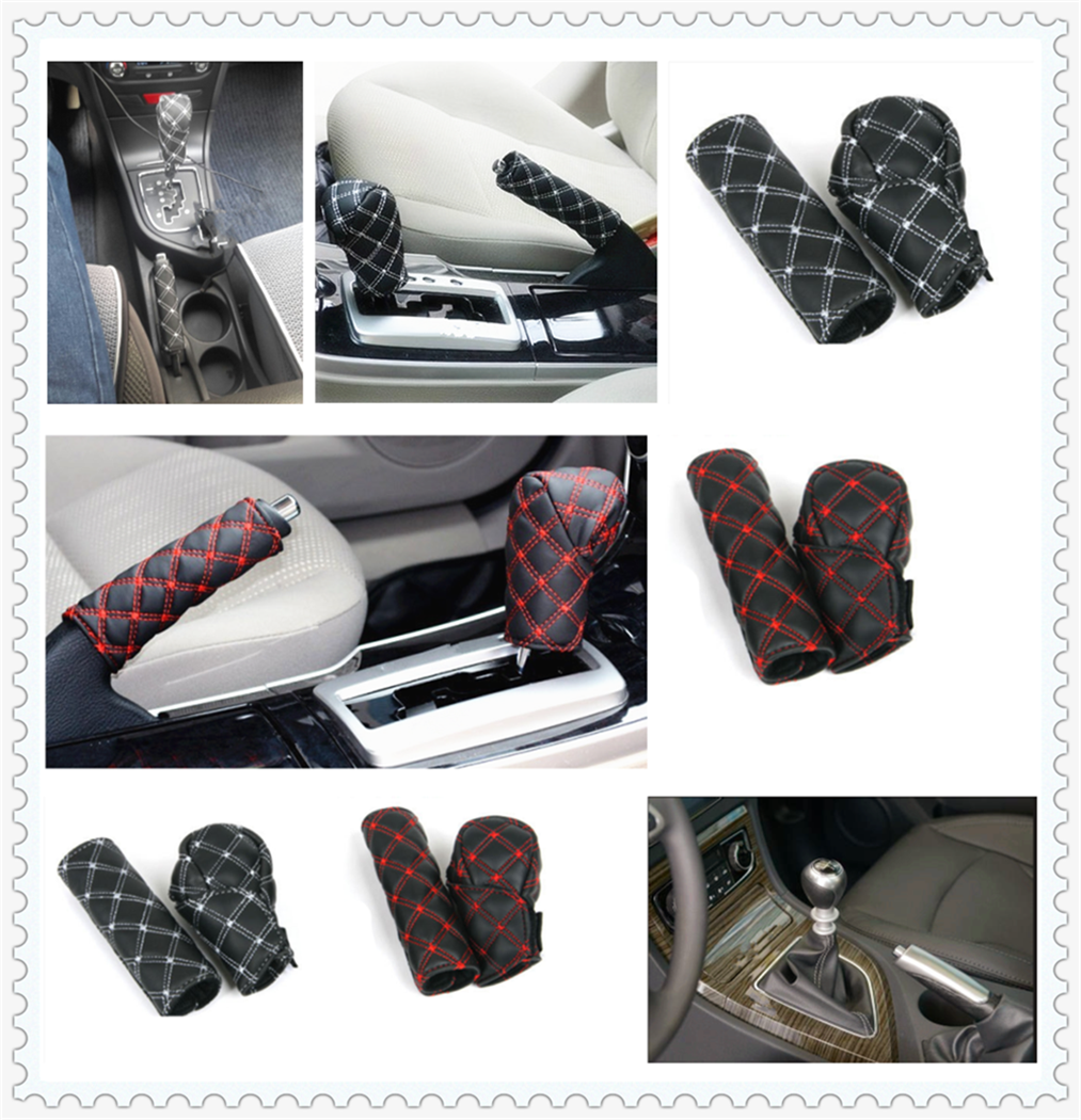 medium resolution of car decoration shell hand brake shift gear box cover for toyota tacoma tercel tiara van venza