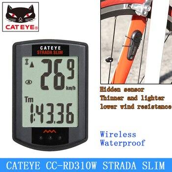 d0165b325 CATEYE CC-RD310W bicicleta de ciclismo inalámbrico Digital ordenador  velocímetro micro ultraligero cronómetro de carreras para bicicleta de  carretera