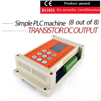8 forward and 8 out of simple PLC programmable time relay