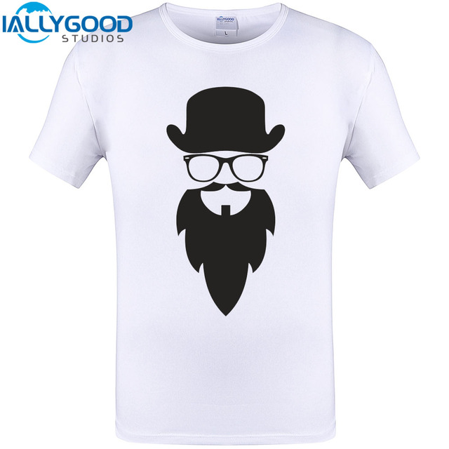 80a693b62 Bearded Hipster Cool Design T-Shirt Summer Short Sleeve Men T Shirt New  Arrival Tops Funny Print Tee Shirts Plus Size S-5XL