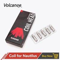 Volcanee 50pcs Coil 0.7ohm 1.6ohm 1.8ohm Head Coils for Bvc Nautilus Mini K3 Triton Mini Coils Nautilus 2 Vape Accessories Core
