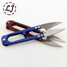 2cs/лот Высокое качество обрезки ножницы-кусачки u-образные кусачки швейная Вышивка Thrum Пряжа GJ018