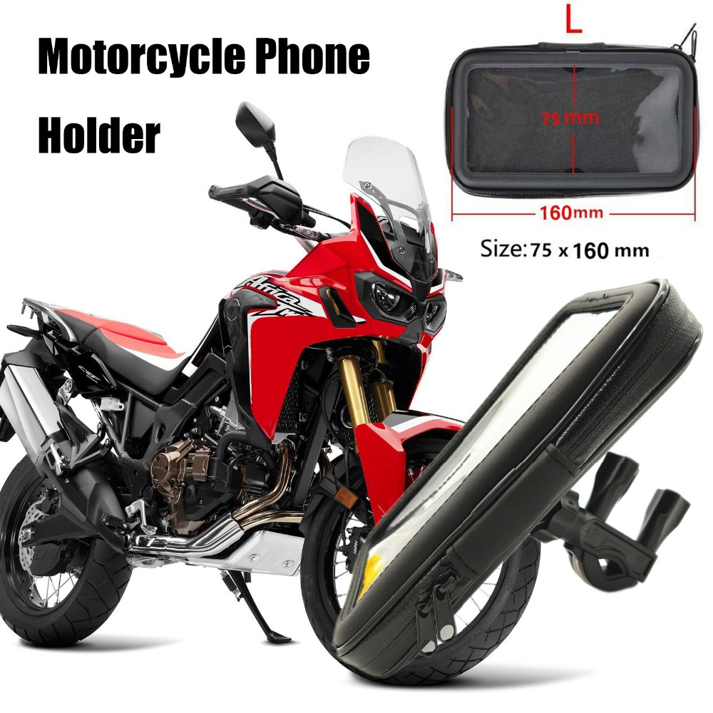 Titular Da Bicicleta Da Motocicleta Suporte Suporte Do Telefone para iPhoneX à prova d' água 8 7 6 GPS Bike Bag Holder Para Xiaomi Moto Suporte Parágrafo Celular