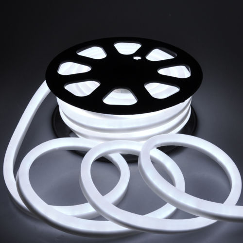 Free shipping from us 50ft cool white led neon rope light restaurant free shipping from us 50ft cool white led neon rope light restaurant cafe outdoor decorative flex aloadofball Image collections
