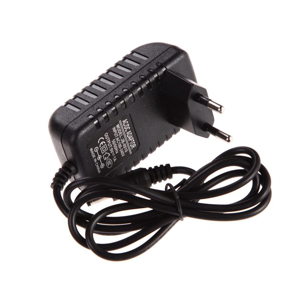 Worldwide AC 100-240V Converter Adapter DC 5.5 x 2.5MM 9V 1A 1000mA Charger EU Plug Free Shipping