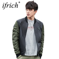 IFRICH Motorcycle Leather Jackets 2019 High Quality Autumn Winter Cool Fashion Men Bomber Jacket Windbreaker Jaqueta Masculina
