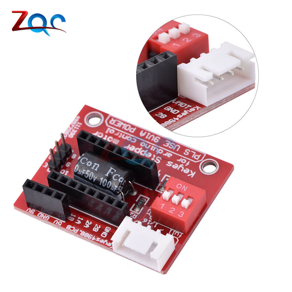 A4988 DRV8825 Stepper Motor Driver Controller Panel Board Expansion Board Module V1.1 Active Component For 3D Printer