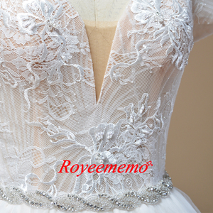 Image 5 - 2019 new design Wedding Dress A line skirt Bridal gown custom made wedding gown factory directly wholesale price bridal dress