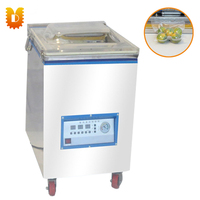 UDHC 400B Automatic Wet And Dry Food Vacuum Machine Tea Packaging Sealing Machine