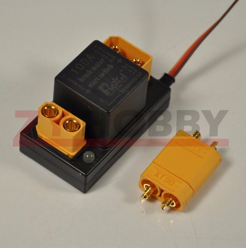 Rcexl 100A cepillo motor electrónico de arranque interruptor de relé EME v1.0 pa