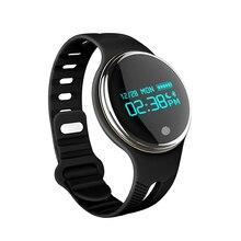 Новая мода Смарт-браслет E07 с Bluetooth фитнес Спорт трекер сна пульсометр водонепроницаемый пульт дистанционного управления