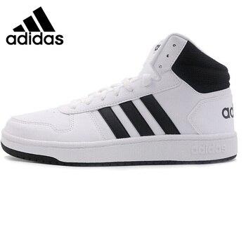 Original New Arrival  Adidas Neo Label HOOPS 2.0 MID Men's Skateboarding Shoes Sneakers