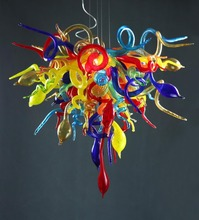Italy Colorful Hand Blown Glass Lights, Pendant Lighting, Art Murano Indoor Modern Lamps