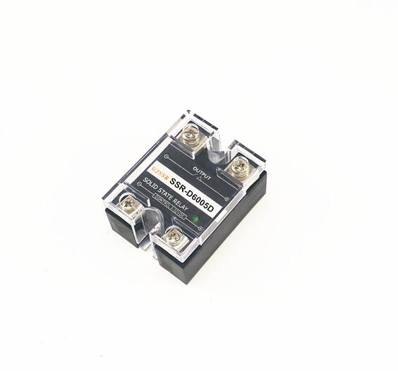 Single-phase DC solid state relay SSR-DD 5A 110VDC/220VDC/400VDC/600VDC  DC-DC normally-open