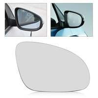 Car Right Side Wing Mirror Glass Heat W Holder For Volkswagen VW Golf GTI Jetta MK5