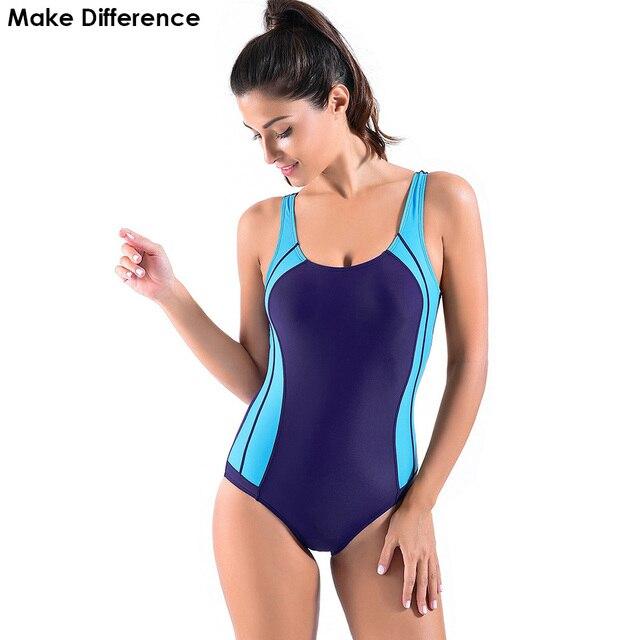 46f7edd123c 차이 2018 새로운 원피스 수영복 여자 수영복 주니어 여자 청소년 수영복 섹시한 스포츠 원피스 수영복