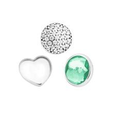 Bijoux en argent Sterling 100% authentique 925, Petites perles, convient pour pendentif médaillon, perles tendance, bijoux pour femmes 009-5