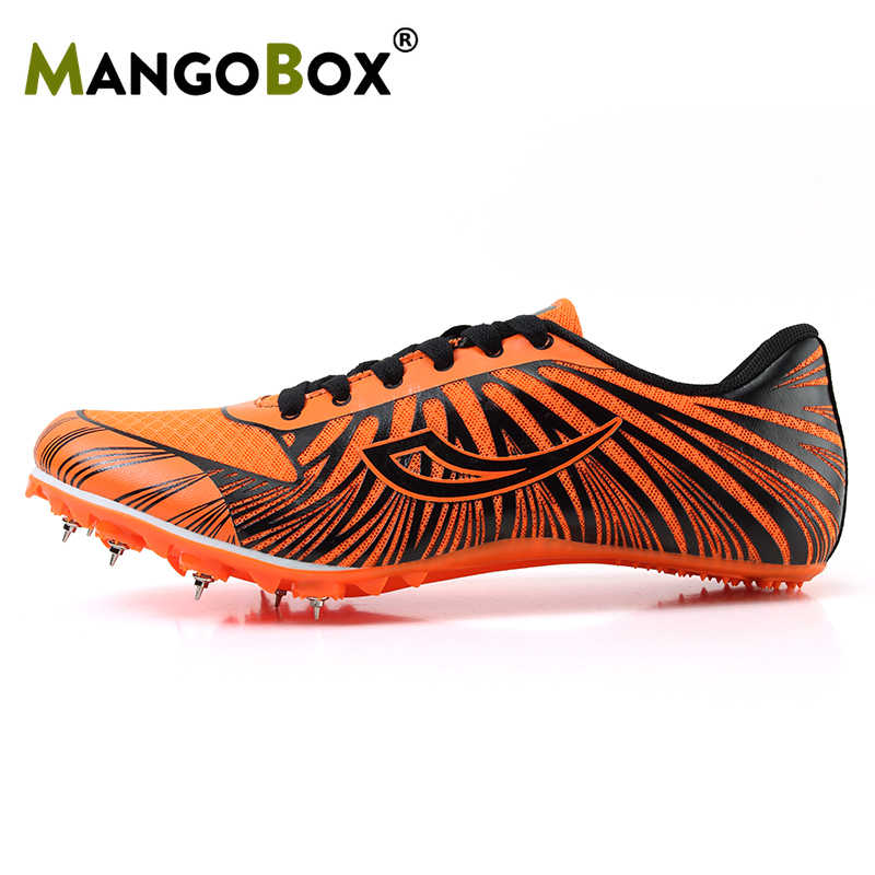 finest selection 32049 84250 Best Youth Track And Field Shoes Professional Big Boy High Jump Spikes  Super Light Men Track Running Shoes Anti Slip Sport Shoes