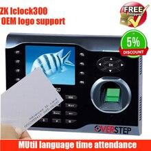 Система Linux ICLOCK300 считыватель карт памяти MF офисная посещаемость веб-сервер автоматический переключатель состояния отпечаток пальца времени посещаемости рекордер