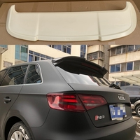 For Audi A3 Sportback Spoiler High Quality Brand New ABS Auto Wing Spoilers Car Accessories For A3 spoiler 2014 2015 2016 2017