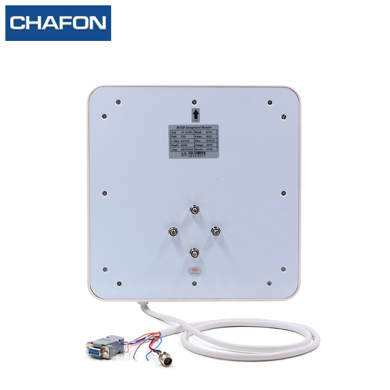 Image 2 - CHAFON uhf rfid reader integrated antenna built in read range up to 3~6m for parking and warehouse management-in Control Card Readers from Security & Protection