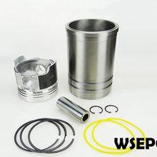 OEM КАЧЕСТВО! Гильза цилиндра/вкладыш+ поршень 06 ПК Комплект для L32 4-тактный одиночный цилиндр с небольшой дизельный двигатель с водяным охлаждением Сделано в Китае