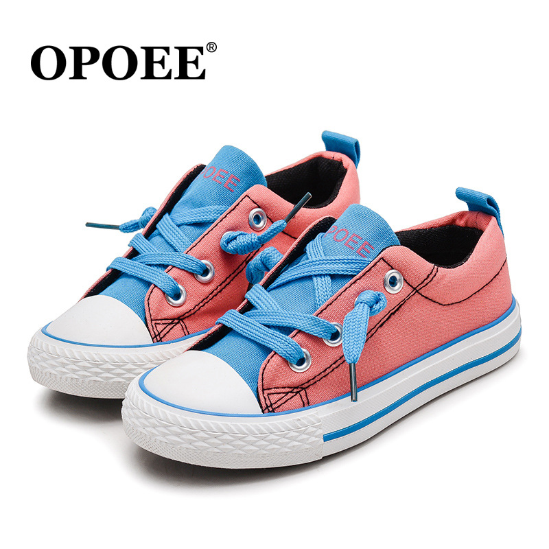 2018 Lace up unisex children casual shoes fashion high quality cool boys girls sneakers tennis Lovely elegant kids baby toddlers