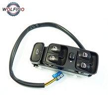 WOLFIGO переключатель переднего левого стекла Главное управление 2038200110 подходит для Mercedes-Benz C320 C55 C32 C230 C280 C240 C350 C320