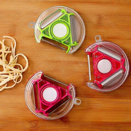 creative creative multi-function julienne peeler descascador de legumes kitchen gadgets