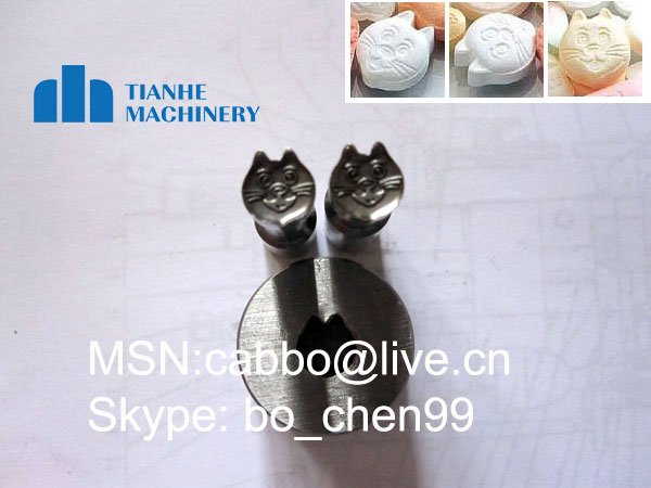 punch / cartoon shape die / mold for tablet press machine / Customized punch for tablet press