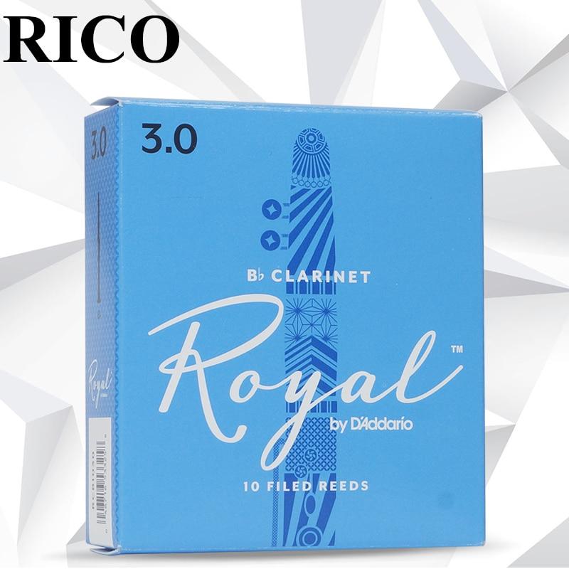 The U.S.A Original  RICO  Royal Blue Box Clarinet Reed