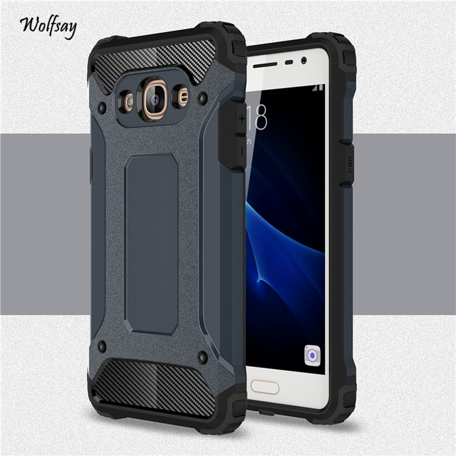 new style df6c2 18ec4 US $2.68 37% OFF|For Samsung Galaxy J3 Pro Case Shockproof Armor Rubber  Hard Phone Case For Samsung Galaxy J3 Pro Cover For Samsung J3 Pro J3110-in  ...