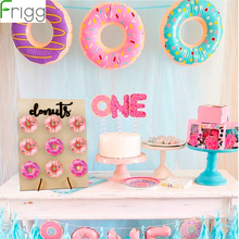 Frigg Wooden Donut Wall Grow Up Decoration Party Suppiles Wood Stand Holder Birthday Wedding Favors